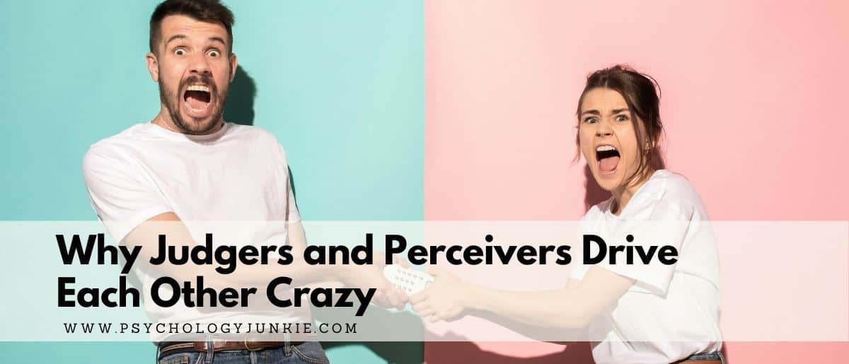 Ever wonder why Judgers and Perceivers clash? Find out in this in-depth article! #MBTI #Personality #INFJ #INFP