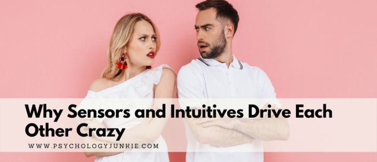 Why Sensors and Intuitives Drive Each Other Crazy