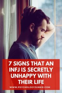 Discover the secret clues that an INFJ is unhappy with their life. #INFJ #MBTI #Personality