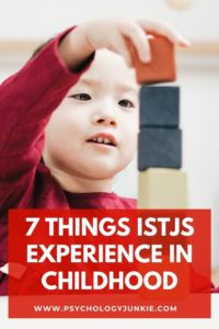 Discover the unique experiences of ISTJs in childhood! #MBTI #ISTJ #Personality