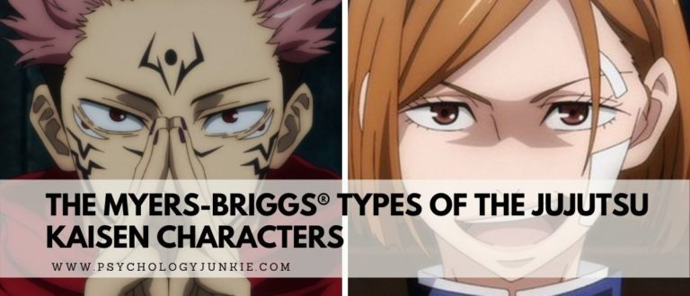 The Myers-Briggs® Types of the Jujutsu Kaisen Characters