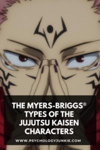 Discover the personality types of the Jujutsu Kaisen characters. #MBTI #Personality