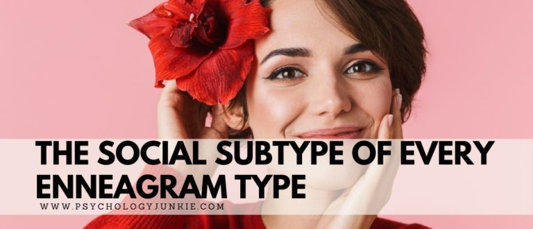The Social Subtype of Every Enneagram Type