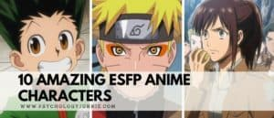 Discover 10 of the most memorable ESFP anime characters of all time. #ESFP #MBTI #Personality
