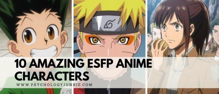 10 Amazing ESFP Anime Characters