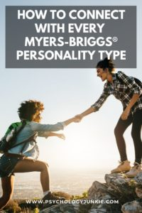 Discover fun and unique ways to connect with every Myers-Briggs® personality type. #MBTI #Personality #INFJ #INFP