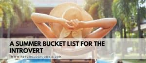 Amp up the joy in your summer with this bucket list of 50 must-do summer activities specifically for the introvert! #Introvert #summer #bucketlist