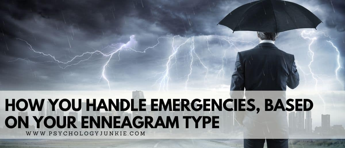 Discover how each Enneagram type responds to an emergency. #Personality #Enneagram