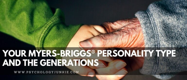 Your Myers-Briggs® Personality Type and Your Generation