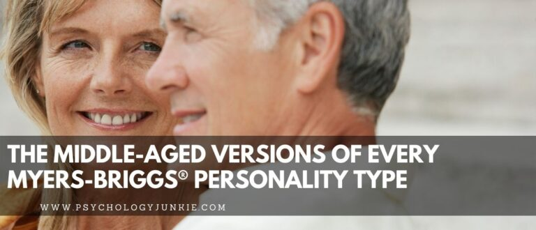 The Middle-Aged Versions of Every Myers-Briggs® Personality Type