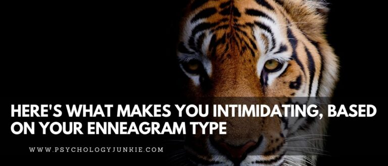 Here's What Makes You Intimidating, Based On Your Enneagram Type