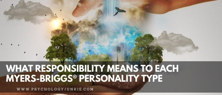 What Responsibility Means to Each Myers-Briggs® Personality Type